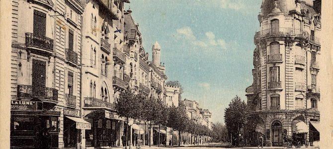 La percée de la rue Ozenne à Toulouse,<br> 1900-1925