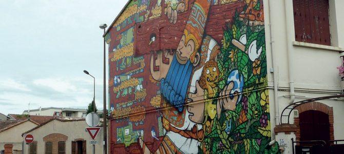 Street-art en métropole toulousaine