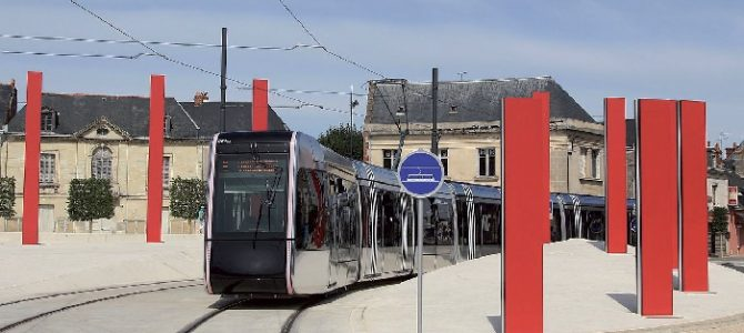 Le tramway de Tours,<br> entre marquage et marketing territorial