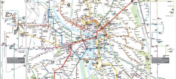 Les réseaux de transport,<br> marqueurs de l'identité métropolitaine