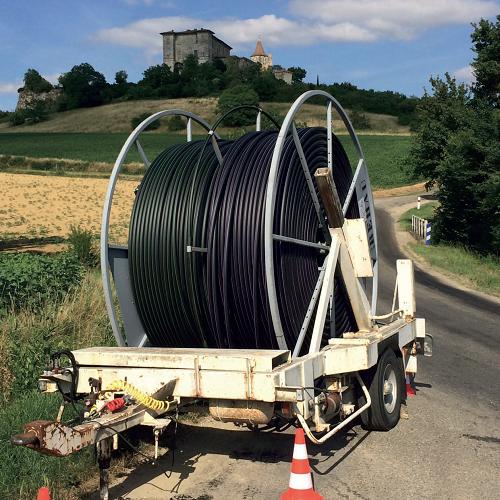 Le déploiement de la fibre par Gers Numérique