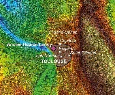 Toulouse avant Toulouse: ce que nous enseigne l'archéologie sur l'occupation des sols
