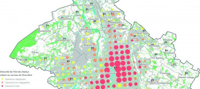L'atlas climatique sur le périmètre de Toulouse Métropole